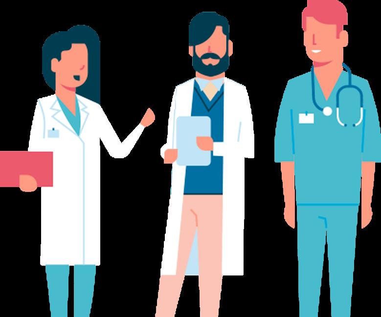 Médicos do curso Estilo de Vida Médico